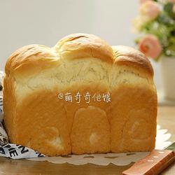 蛋黄土司(冷藏中种法)