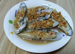 清蒸玉米蚌