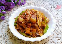 腐竹红烧肉