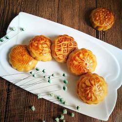 广式月饼(凤梨、栗子馅儿)