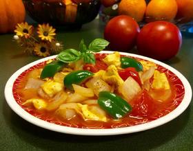 洋葱炒西红柿[图]