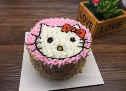 hello kitty小蛋糕