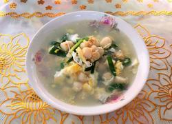 三鲜扇贝丁汤