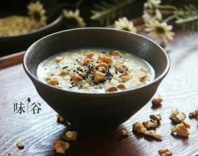 核桃芝麻燕麦粥