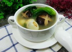 香菇鹌鹑蛋汤