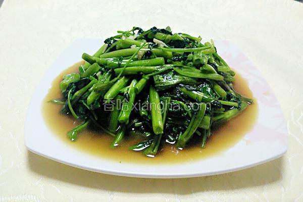 蚝油空心菜