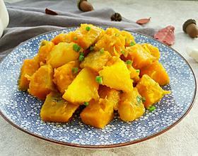 窝瓜炖土豆