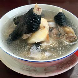 菱角鸡脚汤