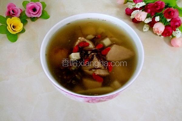 鸡骨草茯苓养肝汤