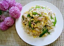 青椒肉丝炒饭