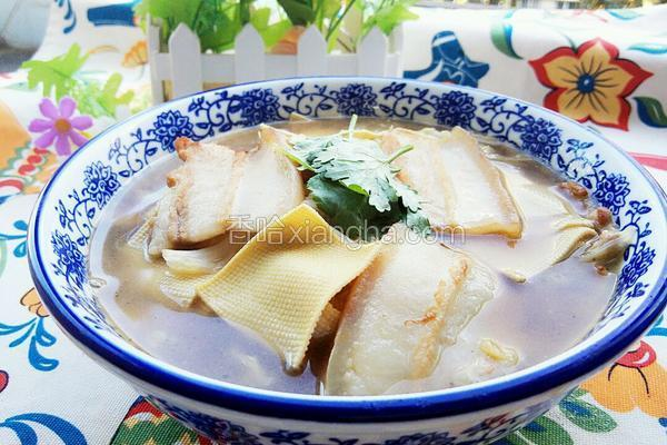 大白菜炖干豆腐