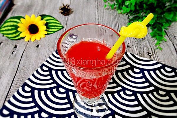 自制西瓜汁