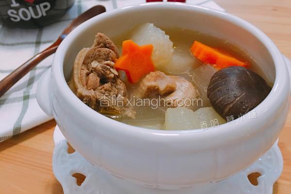 冬瓜鸭子汤