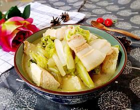 大白菜炖豆腐[图]