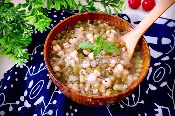 薏仁绿豆汤