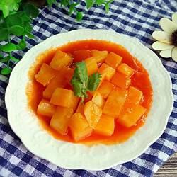 番茄酱土豆丁