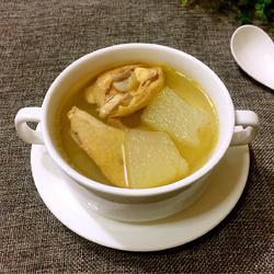 冬瓜炖鸡汤