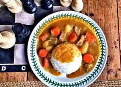 咖喱牛腩焖土豆