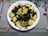 黑木耳老豆腐炒鸡蛋的做法[图]