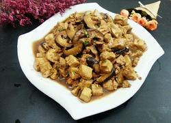 鲜香菇烧豆腐