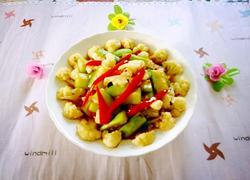 丝瓜烧菜花