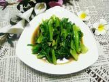 豆豉油麦菜的做法[图]
