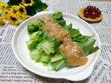 麻酱生拌油麦菜的做法[图]
