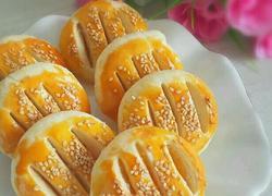 奶黄老婆饼(植物油版)