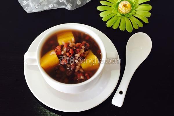 红豆薏米地瓜粥