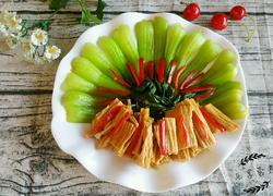 腐竹烧油菜