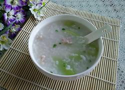 丝瓜瘦肉粥