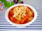 西红柿炝锅面的做法[图]