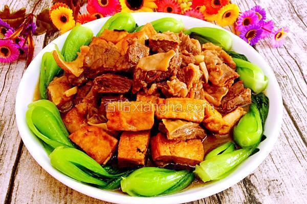 油豆腐泡烧牛肉