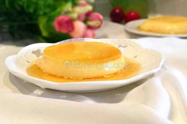 鸡蛋焦糖布丁
