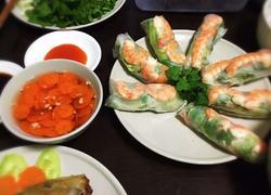 越式虾米春卷