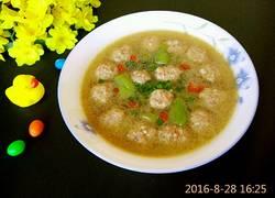 丝瓜肉丸子汤