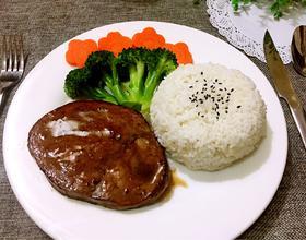 黑胡椒牛排饭