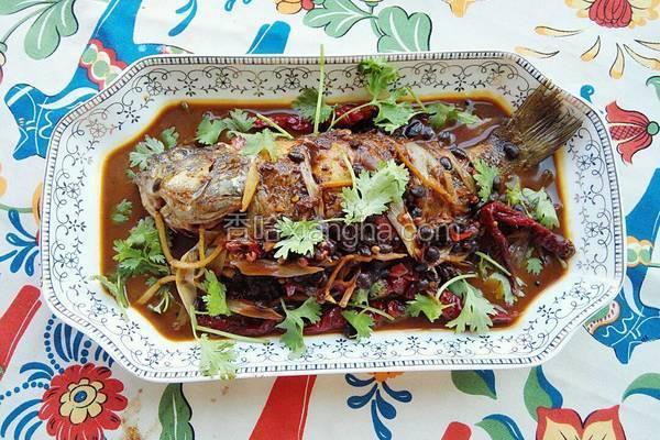 川味豆豉鱼