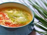 丝瓜番茄汤的做法[图]