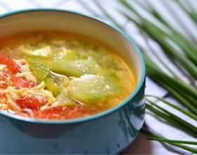 丝瓜番茄汤