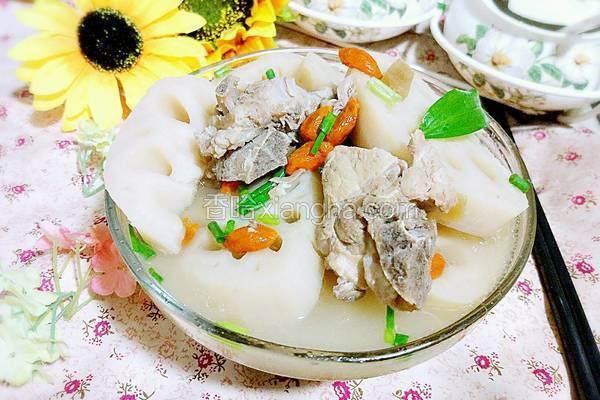 菜脯莲藕煲排骨