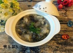 白萝卜紫菜疙瘩汤