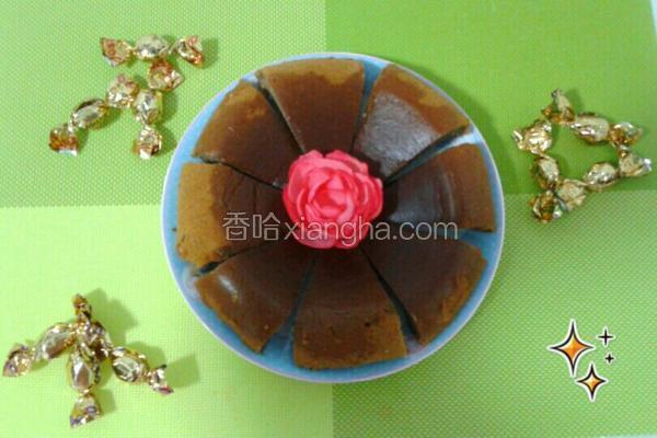 巧克力牛奶蒸蛋糕(电饭煲版)
