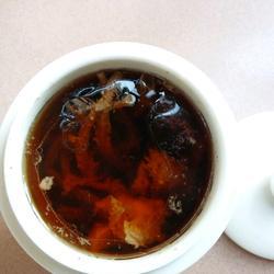 茶树菇煲排骨汤