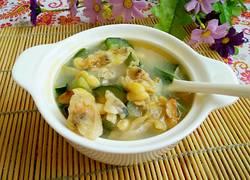 黄瓜豆瓣蛤蜊汤