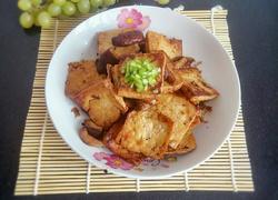 蘑菇烧豆腐