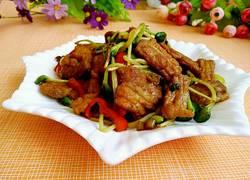 青豆苗炒肉