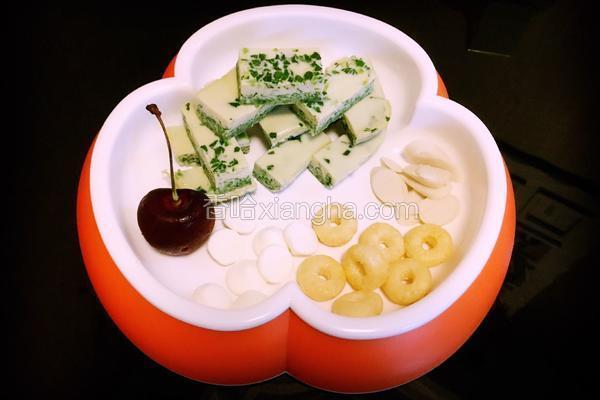 宝宝辅食-鲜蔬鸡蛋糕
