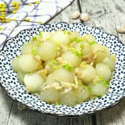 海米炒冬瓜