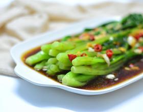 蚝油浸芥菜[图]
